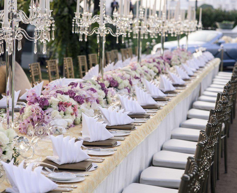 Tischdekoration Hochzeit · Ratgeber Haus & Garten