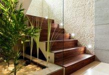 Flur Diele Treppe Pflanzen Beleuchtung