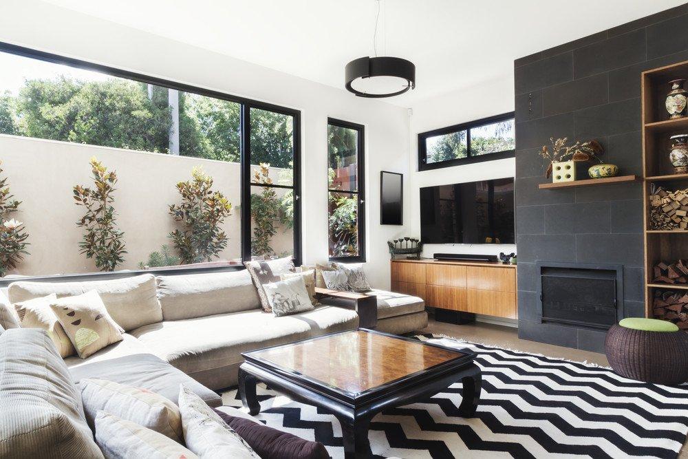 Wohnzimmer modern grau licht wohnideen