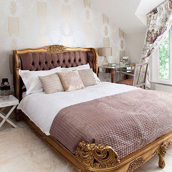 Gold Und Rosa Französisch Stil Schlafzimmer Ratgeber Haus Garten