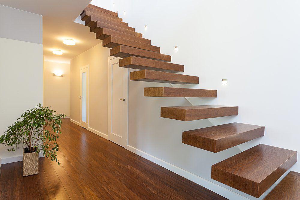 Treppe Modern tipps flur einrichtung ratgeber haus garten