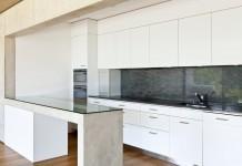 Beton Design Küche Küchentisch Optik