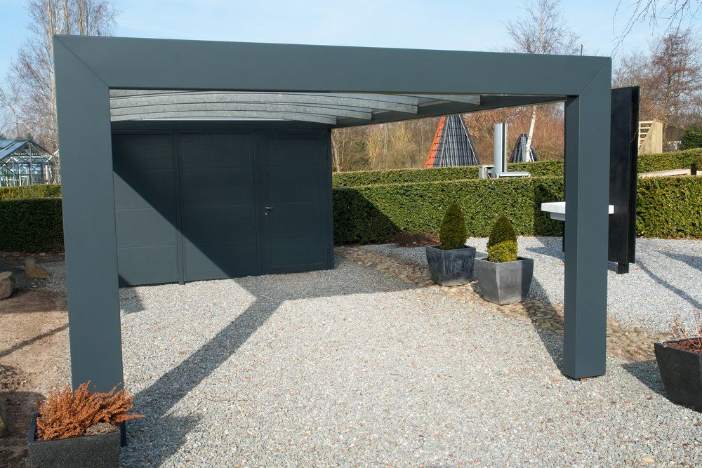 Carport - Modernes Design