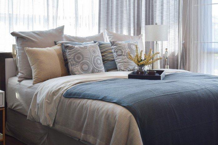 Decke Tagesdecke Bett Bettdecke