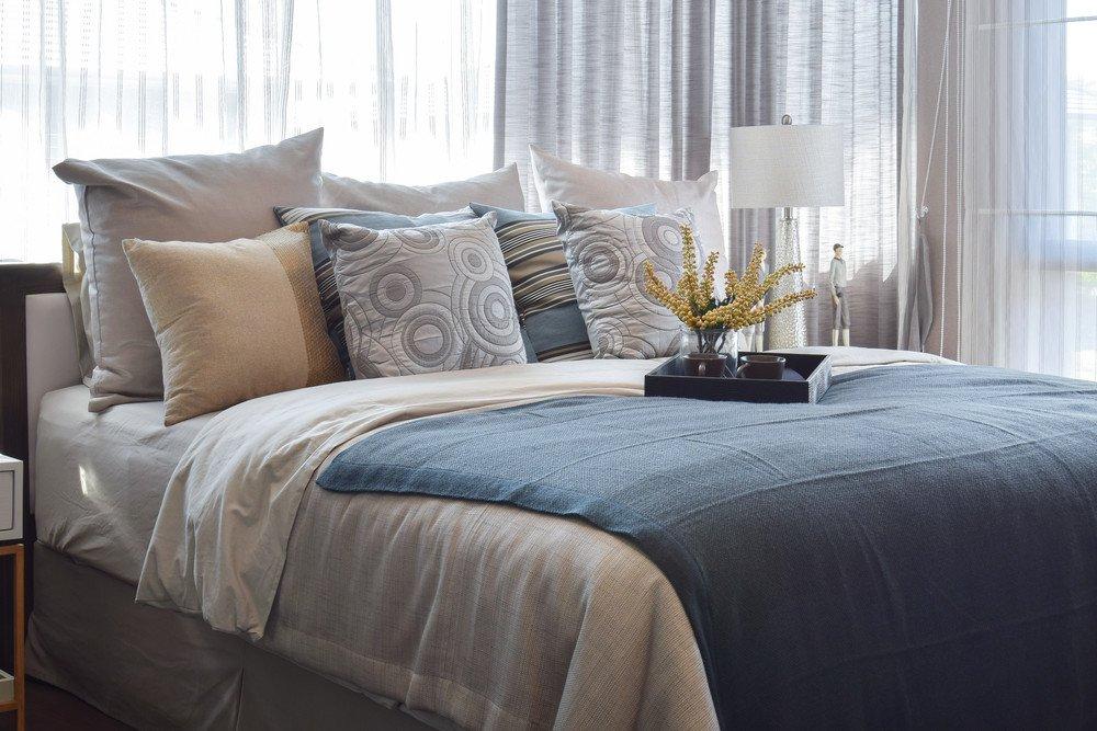 Elegant Decke Tagesdecke Bett Bettdecke