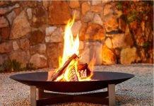 Feuerschale von Woodsteel