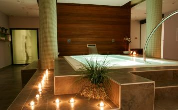 Kerzen-Dekorieren-Badezimmer