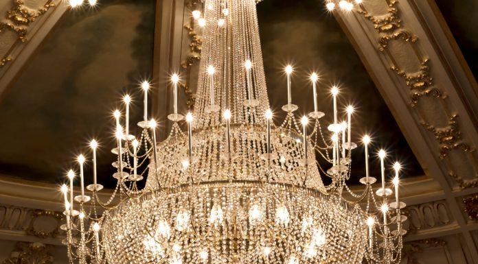 Kronleuchter Dekoration ~ Kristall dekoration · ratgeber haus garten