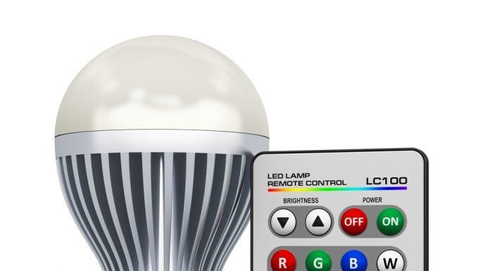 LED Lampen Funk Farben