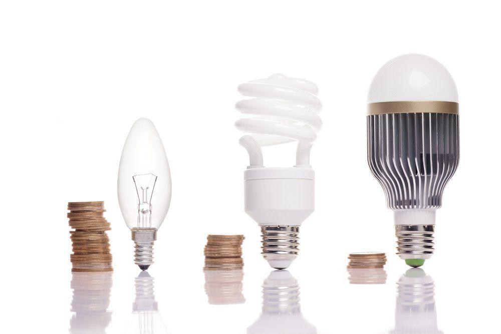 Mit LED Lampen Sparen