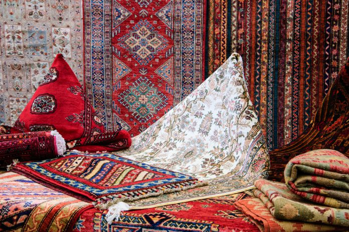 Orientalische Dekoration Teppiche