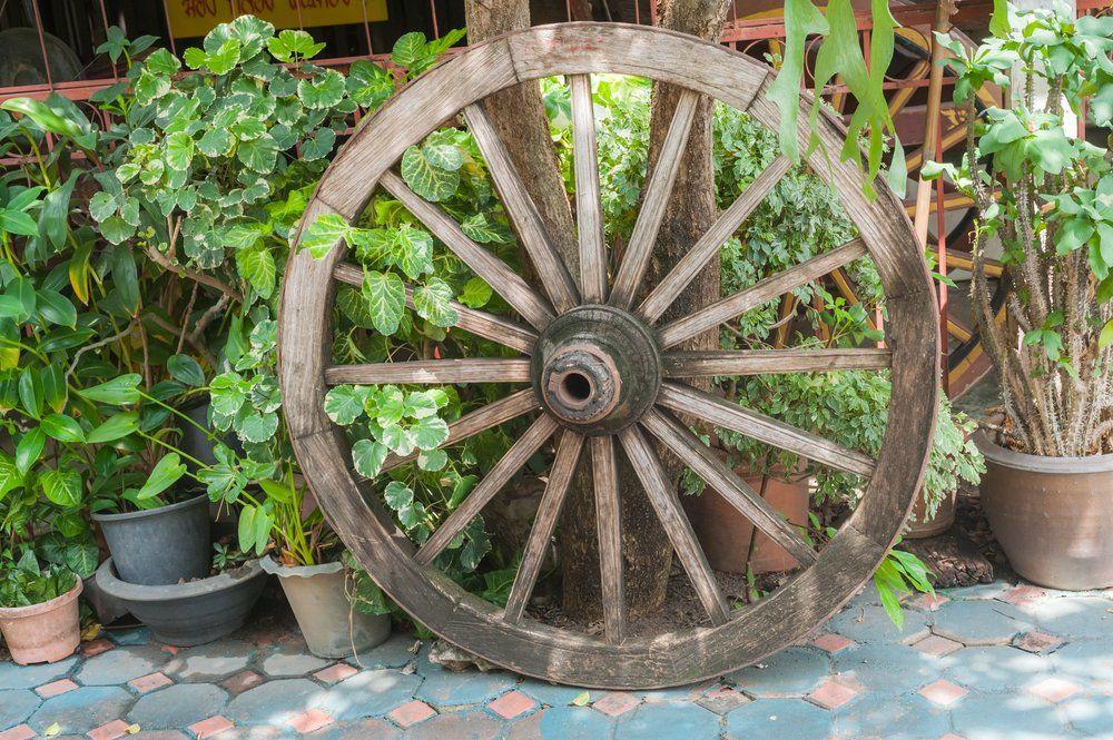Räder Dekoration Ratgeber Haus Garten