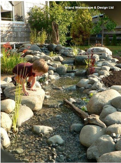 Ratgeber k nstlichen bachlauf anlegen ratgeber haus garten - Garten wasserlauf ...