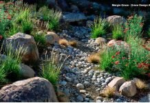 Garten - Künstlicher Bauchlauf - Tiefe und Größe