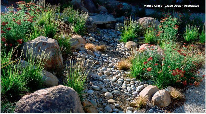 Garten Künstlicher Bauchlauf Tiefe Und Größe