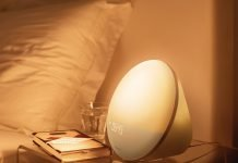 Lichtwecker Philips Wake-up light HF3510