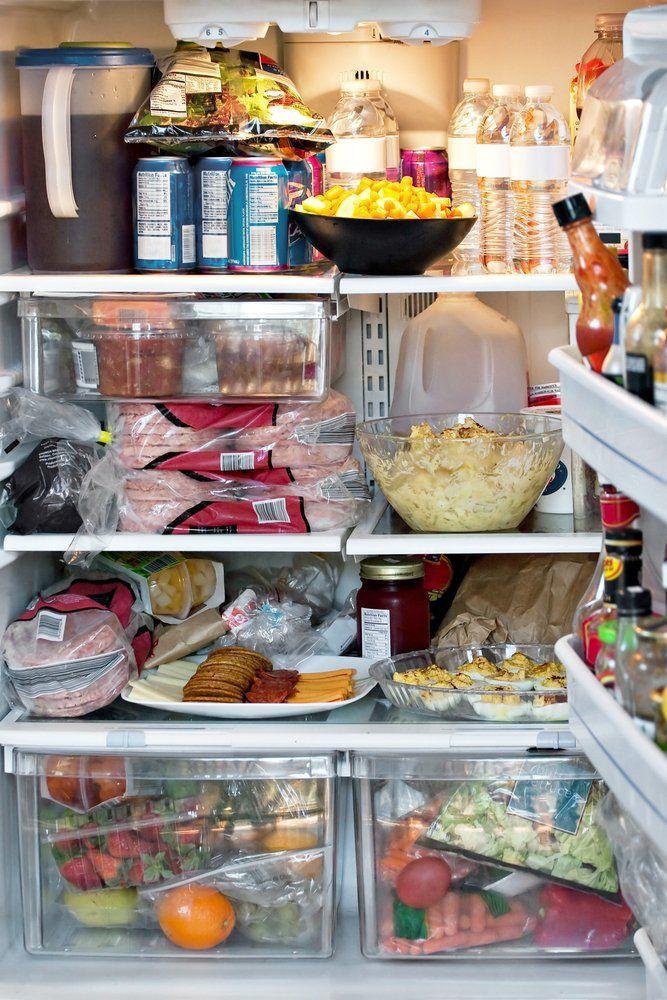 Kühlschrank - gut gefüllt