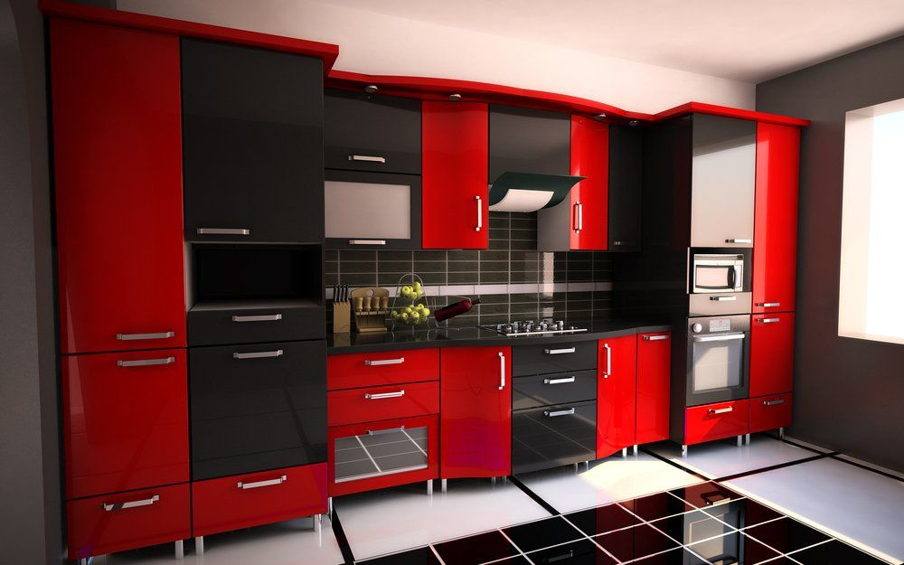 rote kuche ideen appetitlich foto blog f r sie. Black Bedroom Furniture Sets. Home Design Ideas