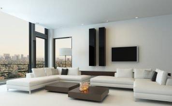 Wohnzimmerschränke werden immer kleiner - Wandgestaltung