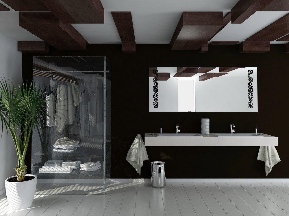 Schwarz U2013 Weisses Badezimmer