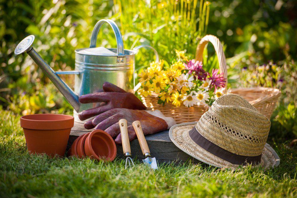 Gartenarbeiten Frühling - Handwerkszeug