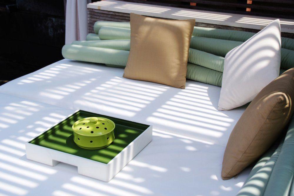 Lounge Gartenmöbel - Kissen