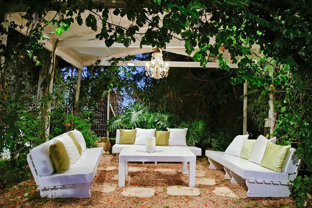 Lounge Gartenmöbel - Terrasse