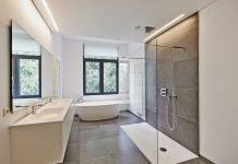 Moderne Duschen Design Landhaus