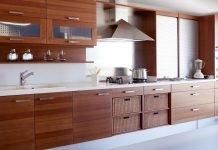 Moderne Holz Küche