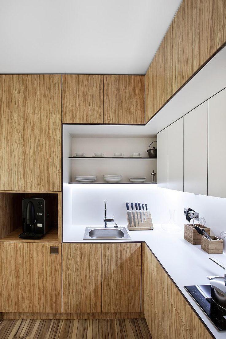 Moderne Holzküchen   Holzstruktur