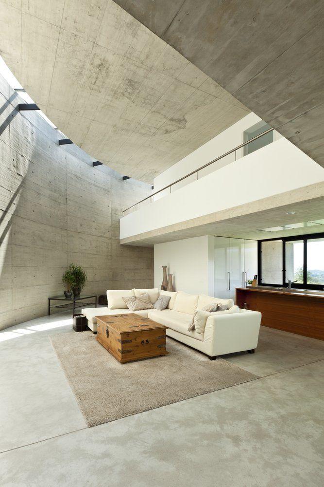 Wohninspiration Beton Ratgeber Haus Garten