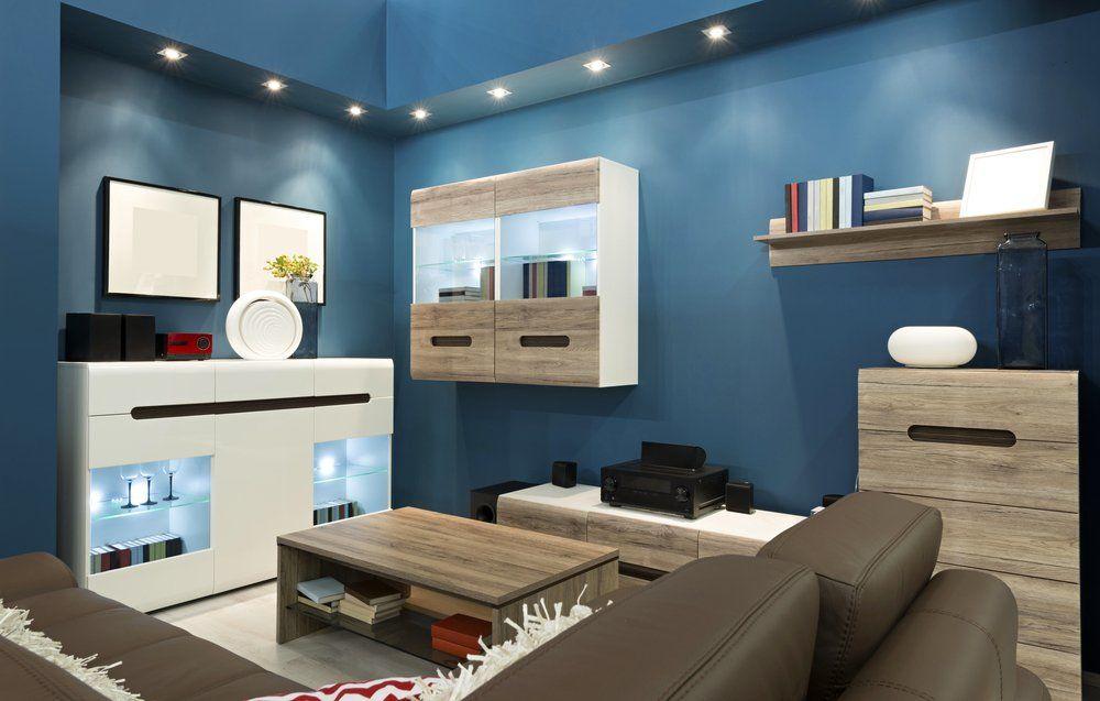Wohninspiration Blau   Wandfarbe