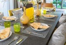 Wohninspiration Gelb - Tischdekoration