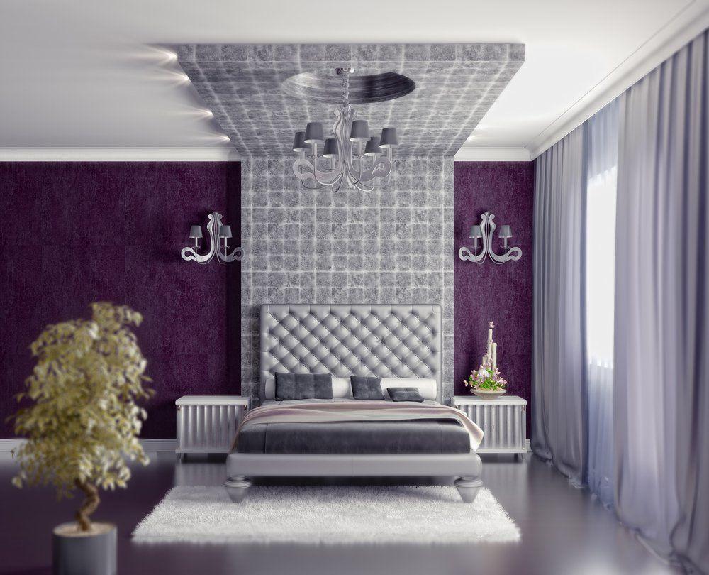 Wohninspiration Lila · Ratgeber Haus & Garten Schlafzimmer Farben Flieder