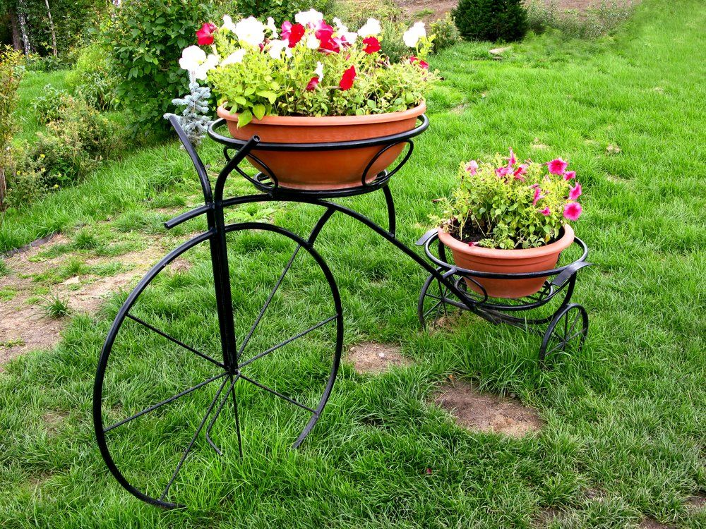 gartendekoration fahrrad ratgeber haus garten. Black Bedroom Furniture Sets. Home Design Ideas