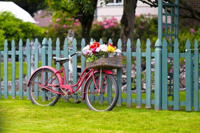 Gartendekoration Fahrrad Ratgeber Haus Garten