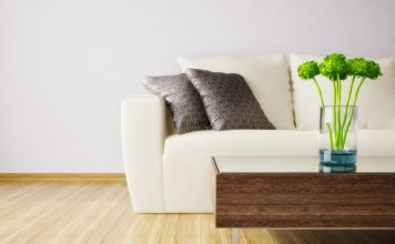 Grüne Deko Inspirationen - Tisch Dekoration