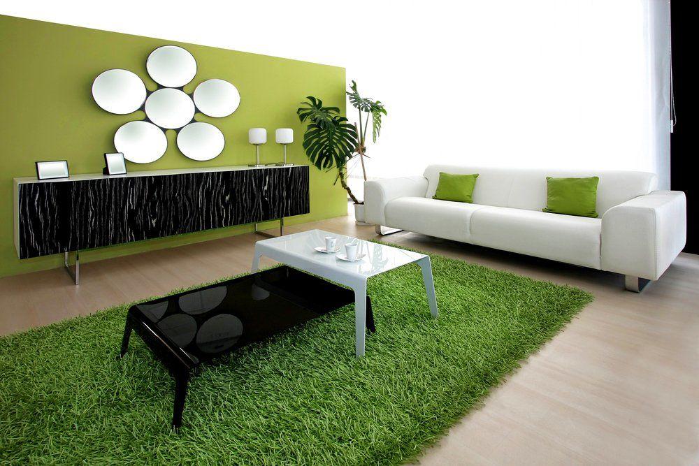 Wohnzimmer deko grün  Grüne Deko Inspirationen · Ratgeber Haus & Garten