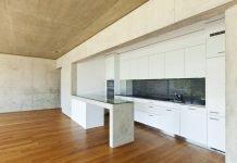 Küchen aus Beton und Stein - Weisse Küche