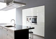 Material Arbeitsplatte Küche - Glänzende Arbeitsplatte