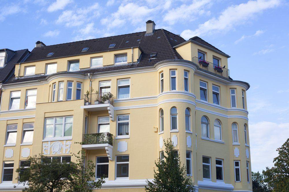 Ratgeber Altbau Sanierung   Sanierte Fassade