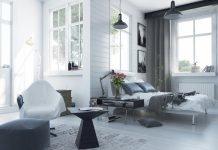 Skandinavischer Einrichtungsstil - Wohnzimmer