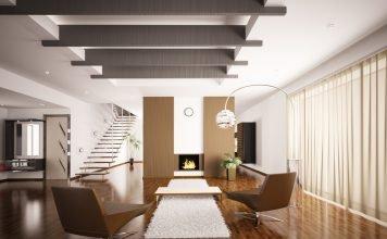 Wohninspiration Braun - Sessel Bodenbelag Wandgestaltung