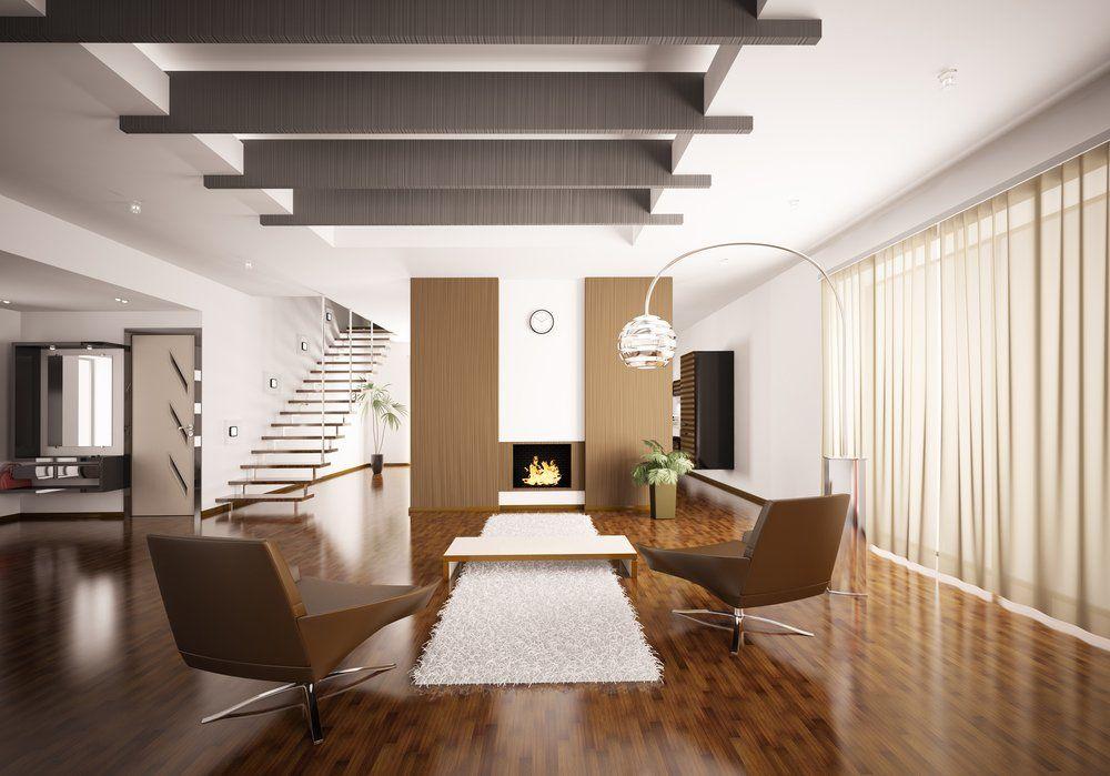 Wohninspiration Braun   Sessel Bodenbelag Wandgestaltung