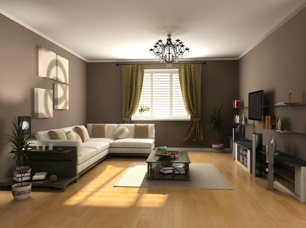 Schon Wohninspiration Braun   Wohnzimmer Farbe Mit Grün