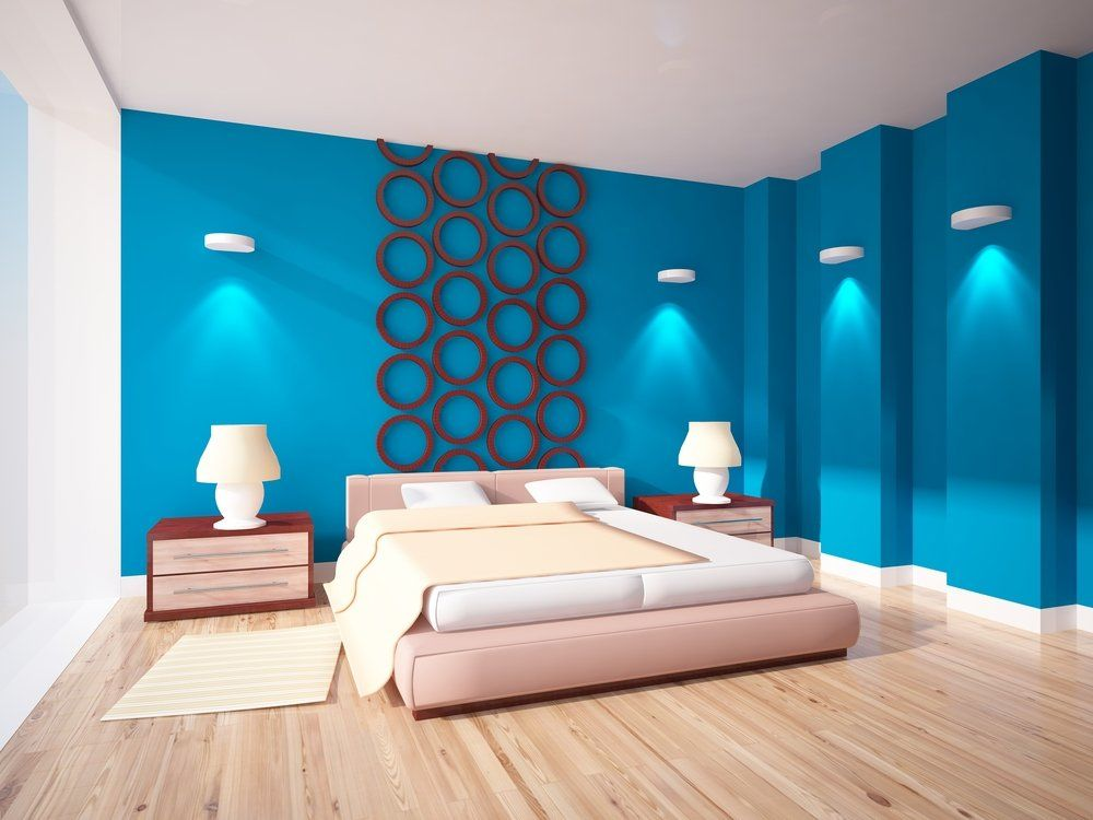 wohnzimmer und schlafzimmer in blau ratgeber haus garten. Black Bedroom Furniture Sets. Home Design Ideas