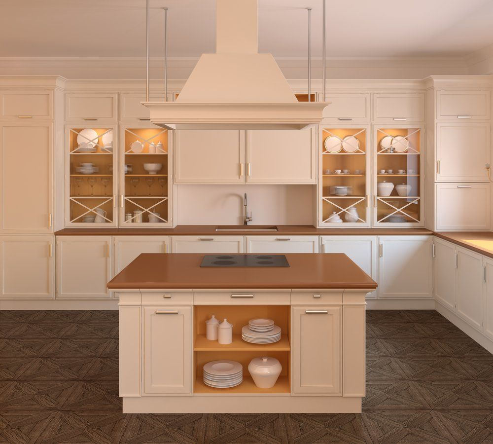 Beige Kitchen Cabinets Ideas