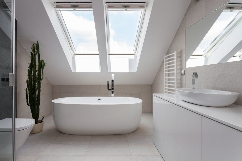 Badezimmer Im Dachgeschoss Als Kleine Oase