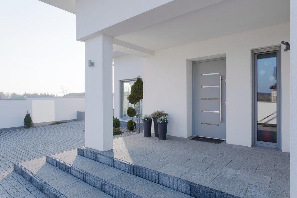 Haus Eingang hauseingang aushängeschild des hauses ratgeber haus garten