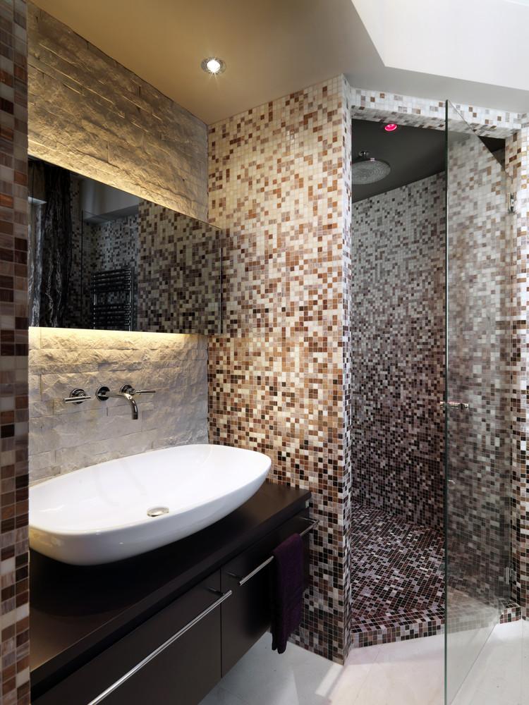 Mosaikfliesen Badezimmer Dekoration